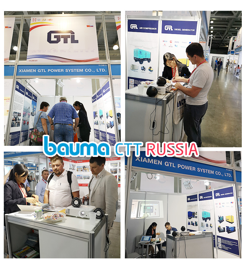 gtl power system in Bauma CTT RUSSIA 2019
