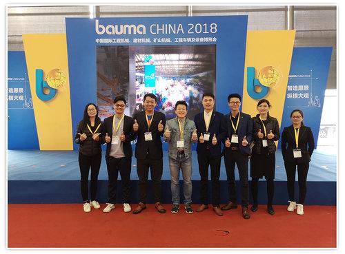 2018上海工程机械展荣耀收官